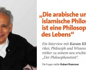 """""""Die arabische und  islamische Philosophie  ist eine Philosophie  des Lebens"""""""