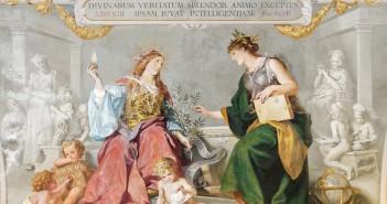 """Glaube und Vernunft vereint"", zur Enzyklika Aeterna Patris des Papstes Leo XIII., Ludwig Seitz (1844–1908). (cc) Wikimedia Commons"