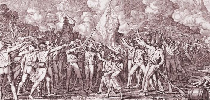 Schwur der Jacobiner, von Johann Friedrich Frauenholz, 1797. (cc) Wikimedia Commons